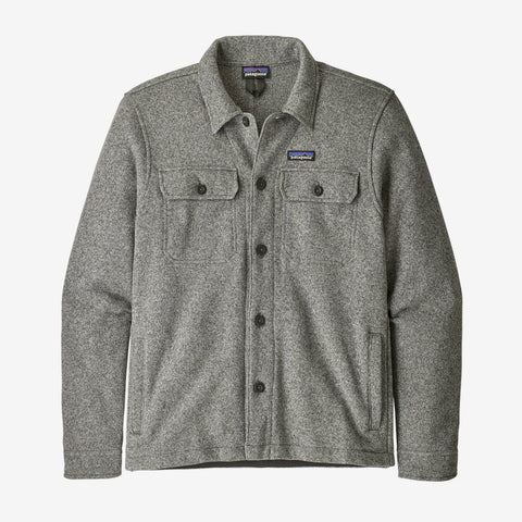 Patagonia Men's Better Sweater® Fleece Shirt Jacket Fall 2020