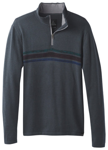 Prana Men's Holberg 1/4 Zip Sweater Winter 2017