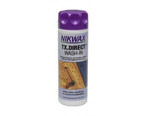 Nikwax TX-Direct Wash-In (10 oz) Water-Repellency Restorer