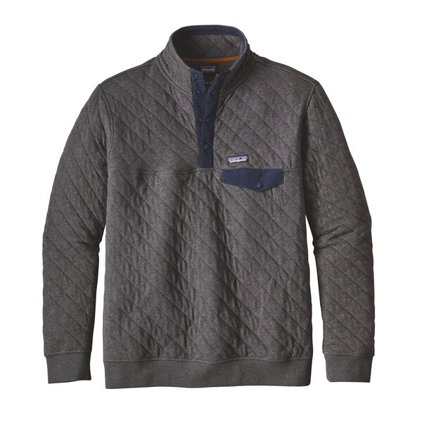 Patagonia Men S Organic Cotton Quilt Snap T Pullover