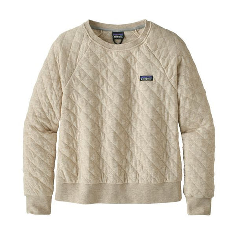 Patagonia Women's Organic Cotton Quilt Crew Fall 2018