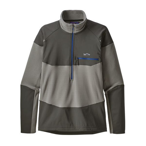 Patagonia Men's R1 Fitz Roy 1/4 Zip Fall 2018
