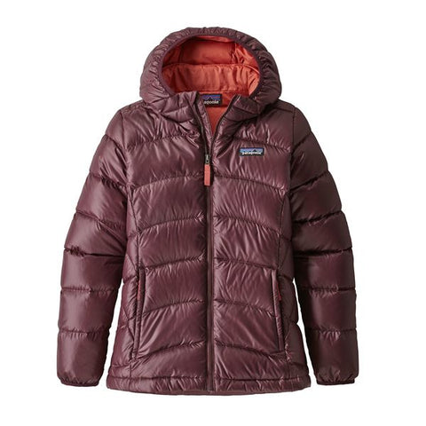 Patagonia Girls' Hi-Loft Down Sweater Hoody Fall 2018