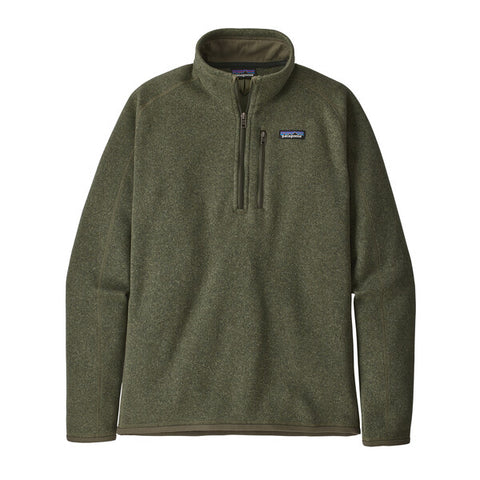 Patagonia Men's Better Sweater® 1/4-Zip Fleece Fall 2020