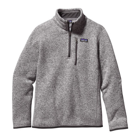 Patagonia Boys' Better Sweater 1/4-Zip Fleece Fall 2018