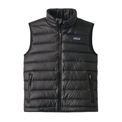 Patagonia Boys' Down Sweater Vest Fall 2018