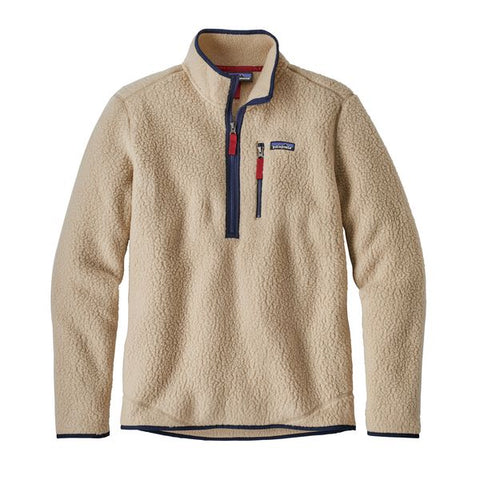 Patagonia Men's Retro Pile Fleece Pullover Fall 2018