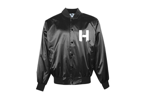 HOODZ5 SATIN BASEBALL JACKETS