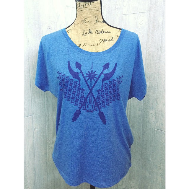 Spur Ridewear Cowskull and Arrows Top