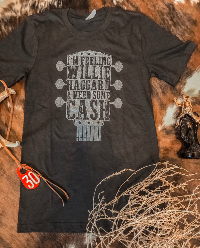 Willie, Haggard, And Cash Tee
