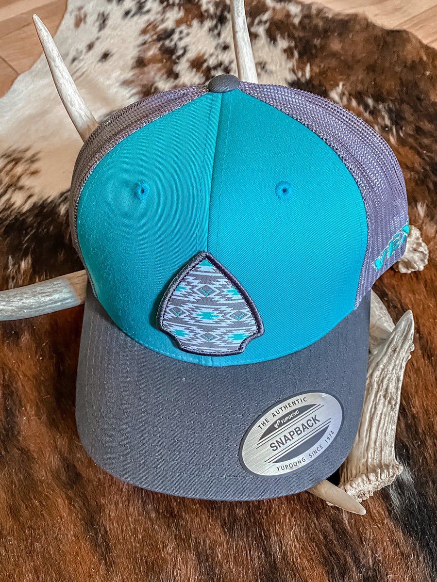 Vexil Arrowhead Hat - Turquoise