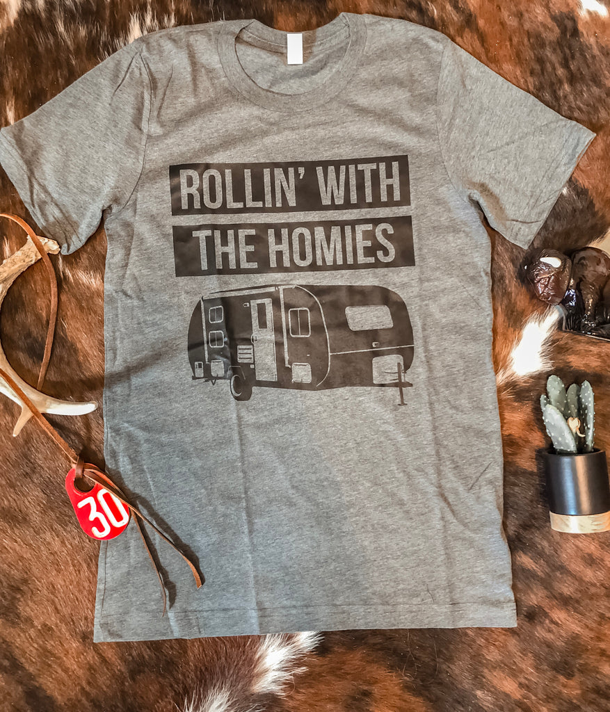 Rollin With The Homies Tee
