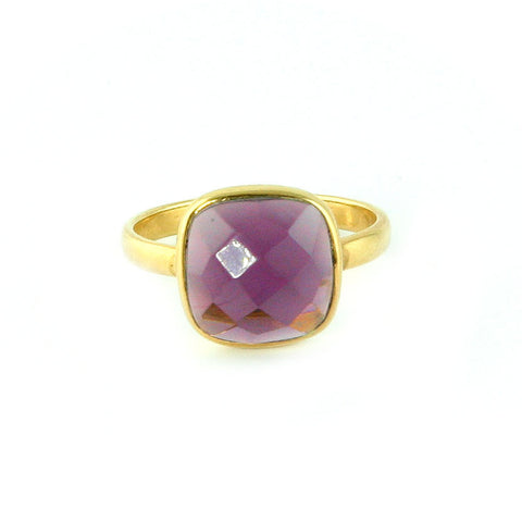 Amethyst Quart February Birthstone Ring Laguna Beach