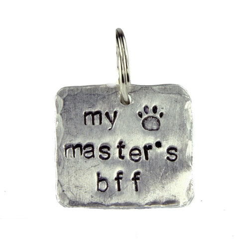 Made in the USA - Dog Tag My Master's BFF