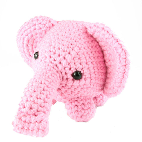 Sweet Pink Elephant Handmade in America Toy