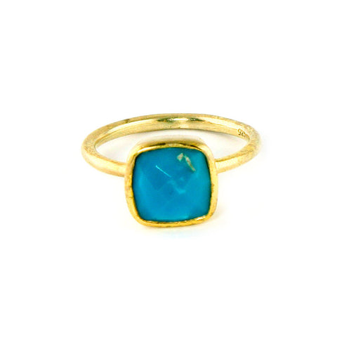 Turquoise December Birthstone Ring Laguna Beach