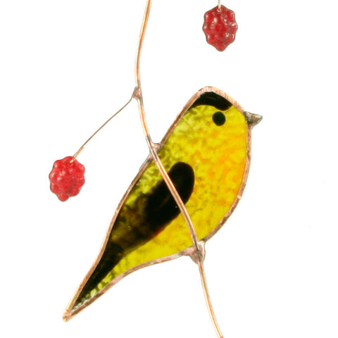 Goldfinch Suncatcher Great Birdwatcher Gift