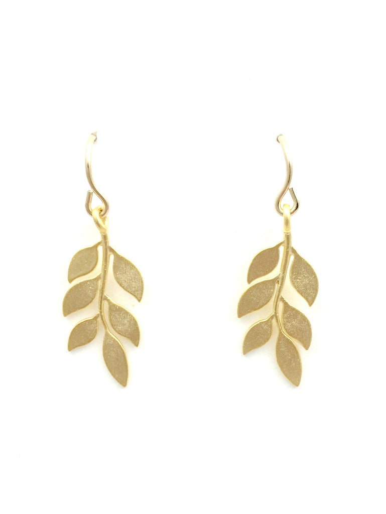 connie delicate b index gold rose earrings