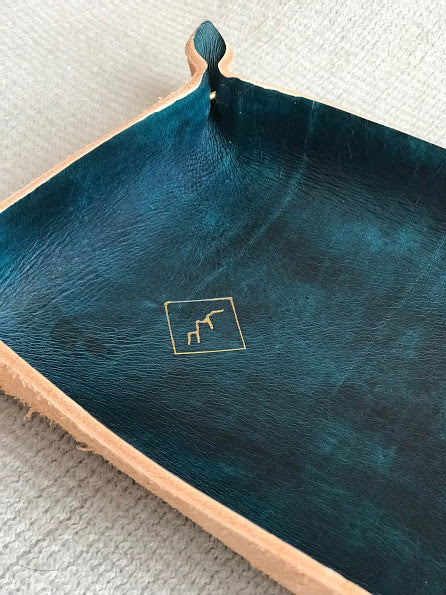 Mountain Design Leather Catchall