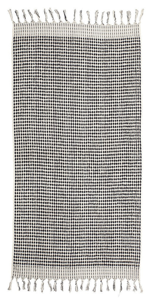 Aegean Cotton Checker Towel