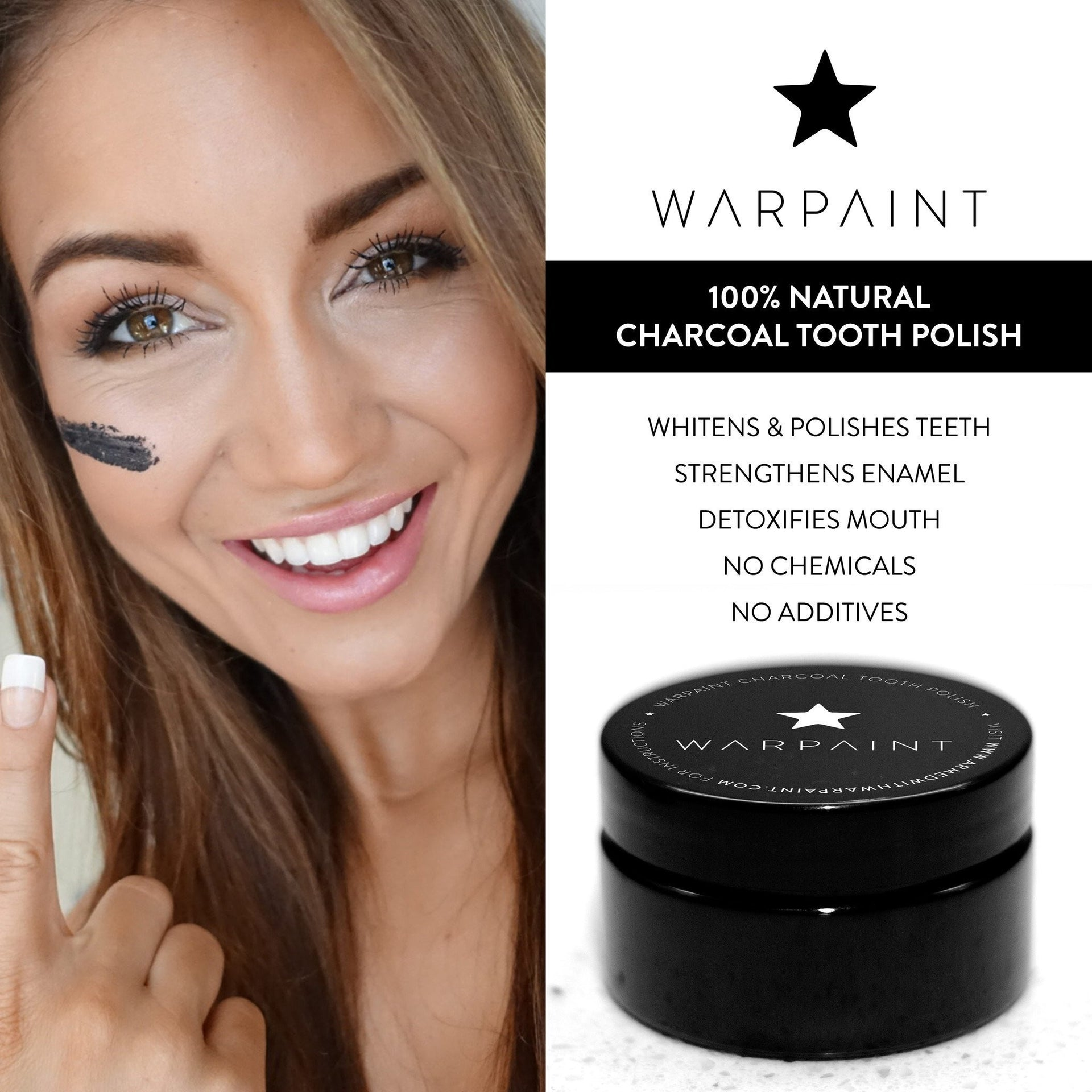 Accessories - Warpaint Charcoal Tooth Polish