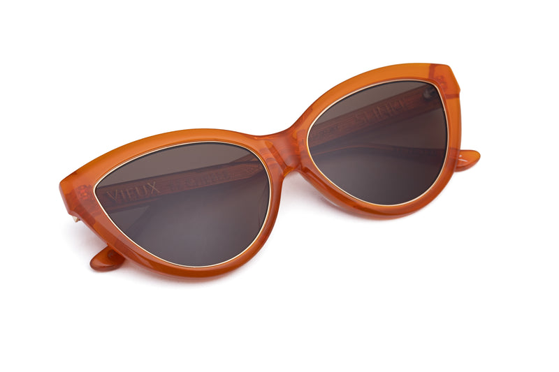 Le Chelle Sunglasses - Orange