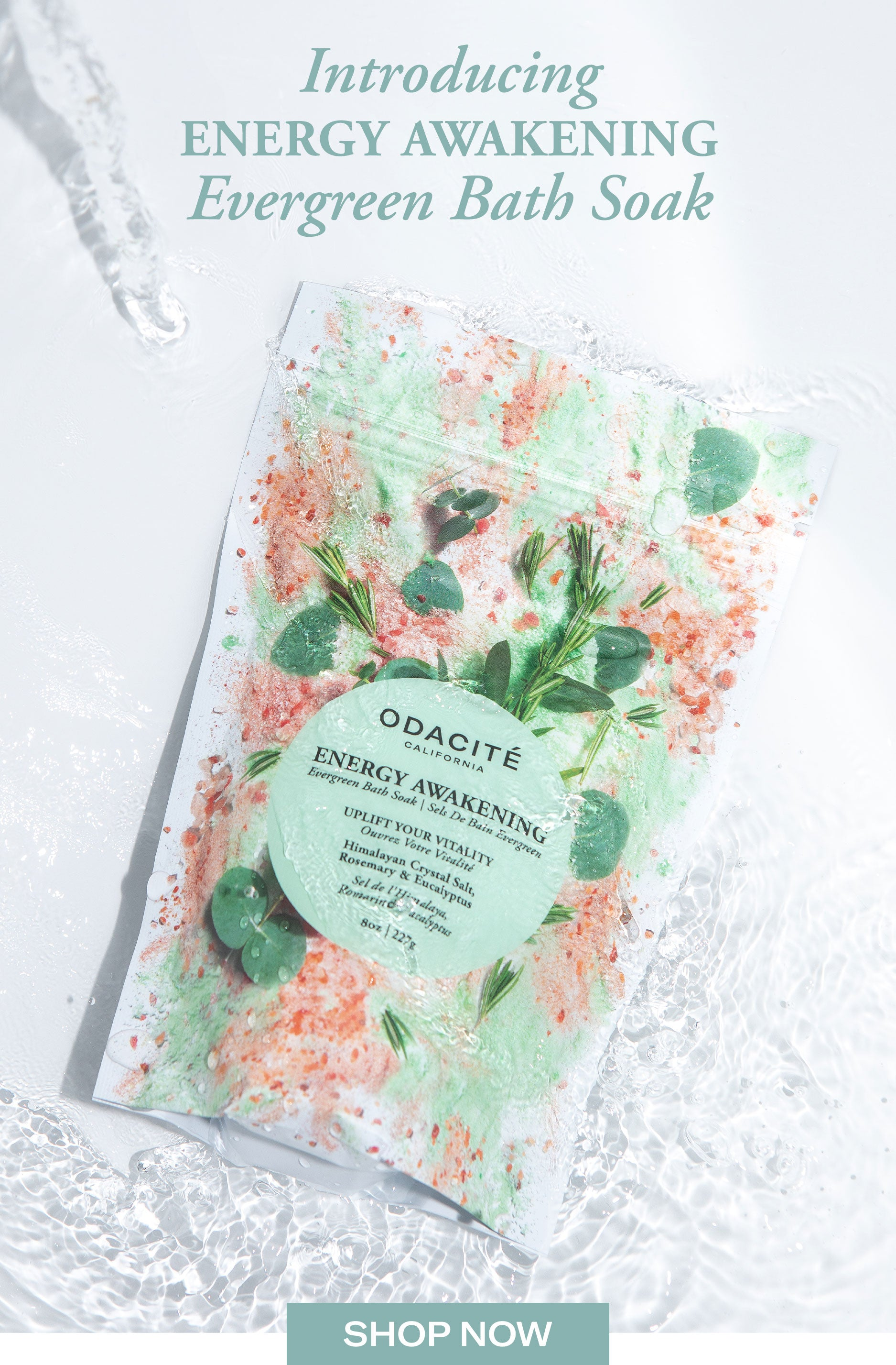 Energy Awakening Bath Soak