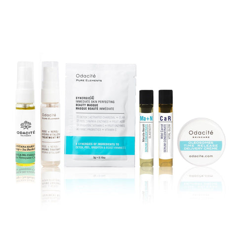 Nature's Harvest Facial Deluxe Sample Kit