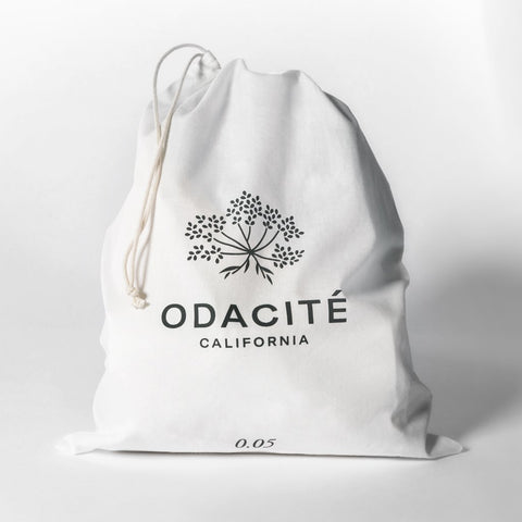 Reusable Organic Cotton Drawstring Bag