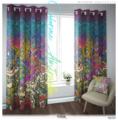 Abstract Marble Print PREMIUM Curtain Panel. Available on 12 Fabrics. Heavy & Sheer. 100107