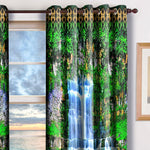 Devarshy Designer Home Furnishings Digital Print Waterfall Blackout Curtain Set -1070 , Home Decor - DEVARSHY, DEVARSHY  - 2