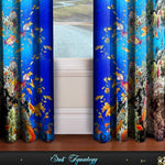 Devarshy Designer Digital Print Blue Underwater Home Decor Curtain Set , Home Decor - DEVARSHY, DEVARSHY  - 3