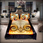 Devarshy Modern Design Digital print Kingsize Bed sheet Set , Home Decor - DEVARSHY, DEVARSHY  - 1