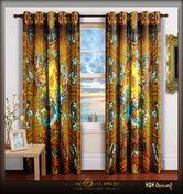 ART CLASSIQUE The Mystical Lamb Painting Devarshy Door Curtain - 1004