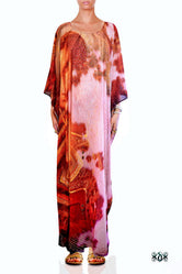 ART CLASSIQUE Serene Mona Lisa Devarshy Long Embellished Kaftan - 1079