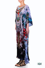 Decorative Devarshy Designer Elegant Long Embellished Kaftan Gown - 1114 C , Apparel - DEVARSHY, DEVARSHY  - 2