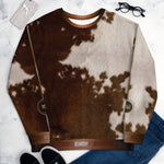 Cow Print UNISEX Sweatshirt For Male and Female, PF - 11222