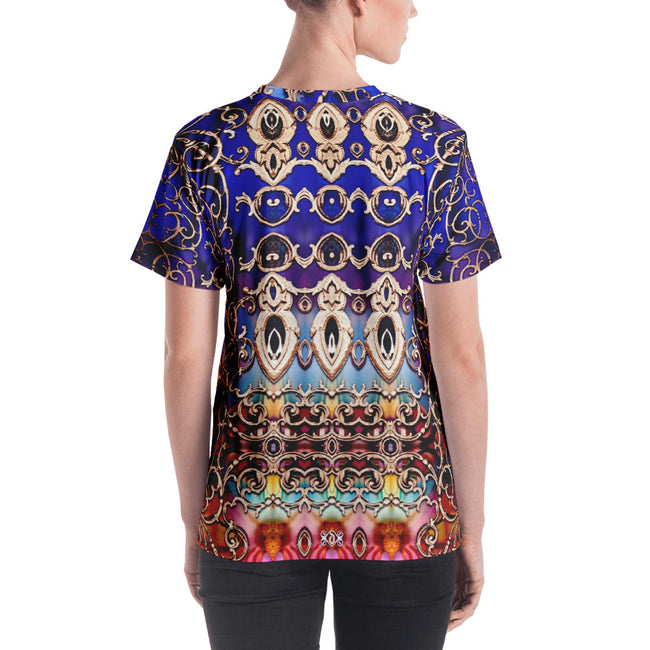 BAROCOCO Royal Ornate Devarshy Printed Jersey Women's T-Shirt PF - 1053A