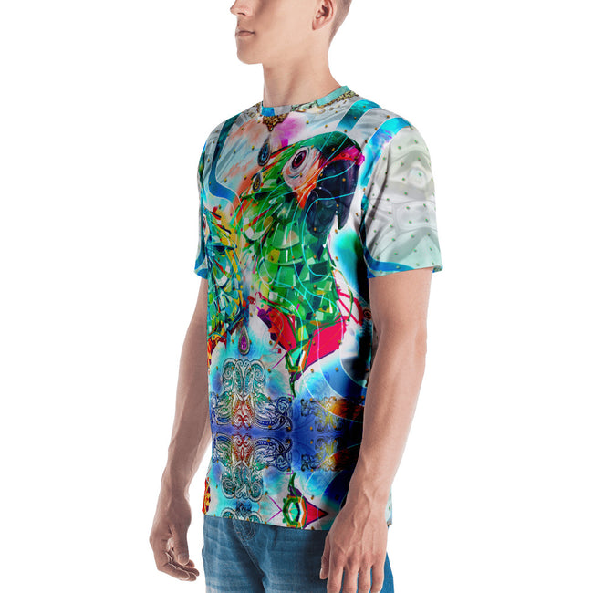 PHOENIXOLOGY Decorative Birds Devarshy Printed Men's T-Shirt PF - 1022A