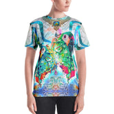 PHOENIXOLOGY Decorative Birds Devarshy Printed Women's T-Shirt PF - 1022A