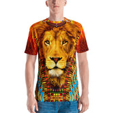 NATURE MORTE The Majestic Lion Devarshy Printed Men's T-Shirt PF - 1092A