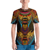 MAASAI-ENGAI Ornate Brown Devarshy Animal Print Men's Printed T-Shirt PF - 1072B