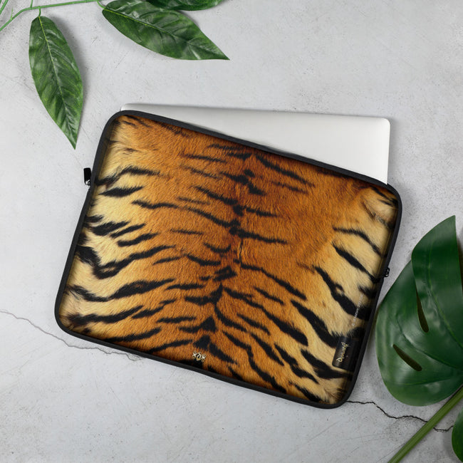 Animal Skin Printed Laptop Sleeve, Lightweight Neoprene Laptop Case, Devarshy, PF - 1018