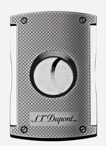 S.T. Dupont  MAXIJET CIGAR CUTTER-CHROME GRID 003257