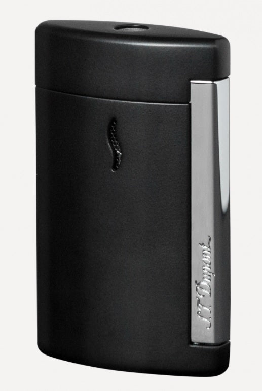 S.T. Dupont MATT BLACK AND CHROME FINISH MINIJET LIGHTER 010503