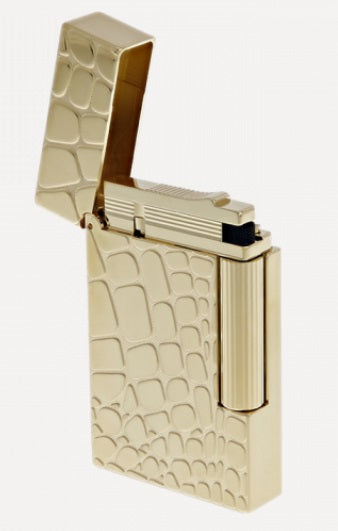 S.T. Dupont LIGHTER LINE 2 DANDY - YELLOW GOLD-016488