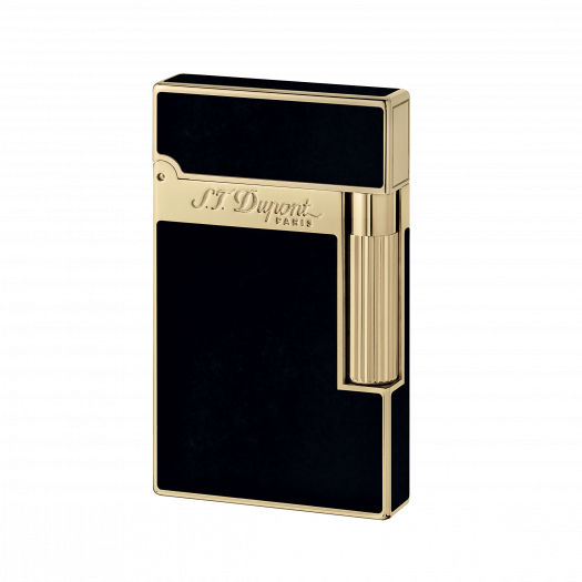 S.T. Dupont YELLOW GOLD FINISH NATURAL LACQUER LIGHTER 016884