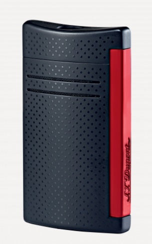 S.T. Dupont MAXIJET BLACK AND RED LIGHTER-020160N