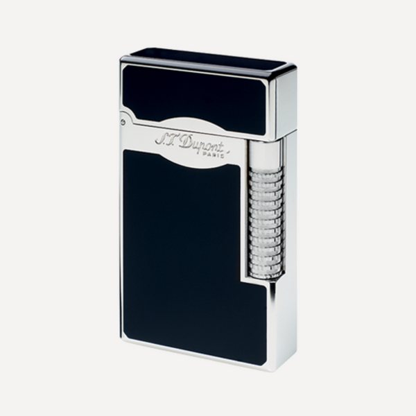 S.T. Dupont Line 2 Le Grand Black and Palladium Soft Flame Lighter 23010