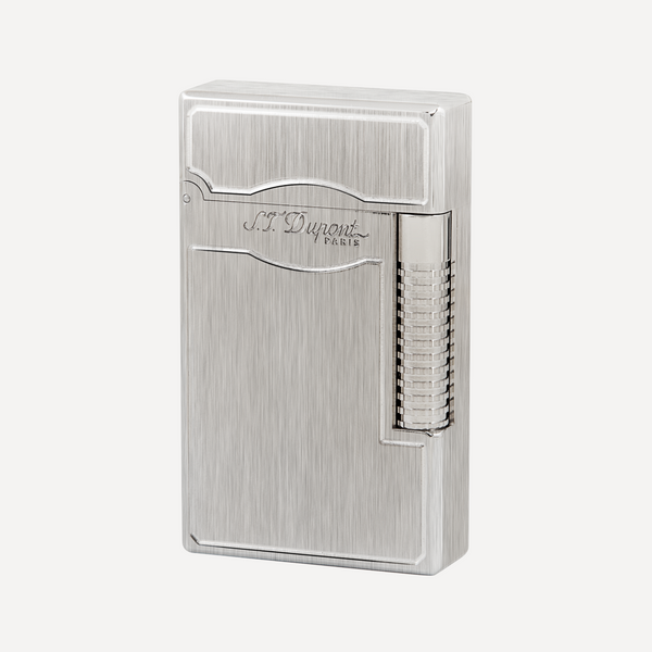 S.T. Dupont Line 2  Lighter Le Grand S.T. Dupont Brushed Goldsmith Palladium 23014